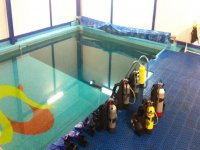 Scuba Diving Class in Pool at Mexico City for 2