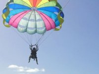 Parasailing in the heights
