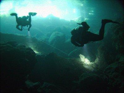 Cave Diver course in Playa del Carmen