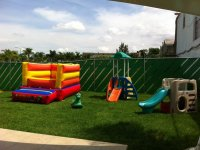 Inflatables and playgrounds