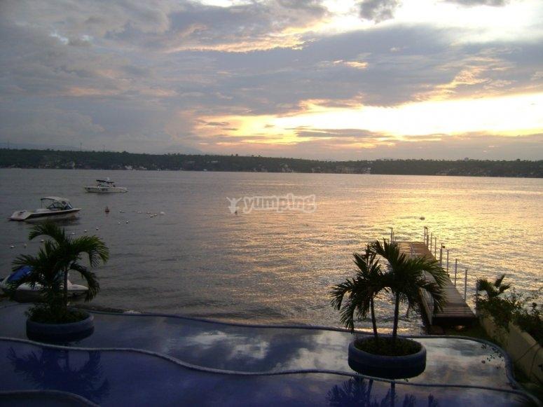 The lake of Tequesquitengo