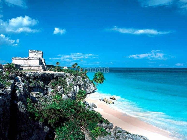 Tulum y su playa