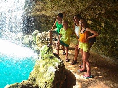 Tour a parque Xenses Cancún y nado con delfines