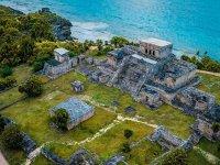 Vista panorámica del sitio arqueológico
