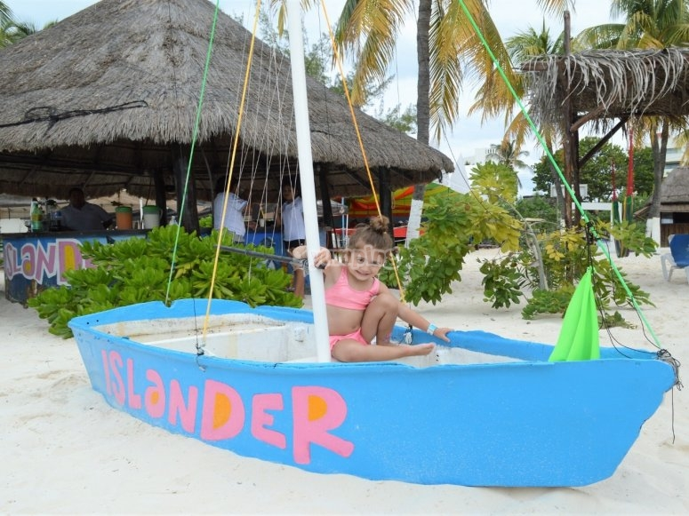 Disfrutando de isla mujeres