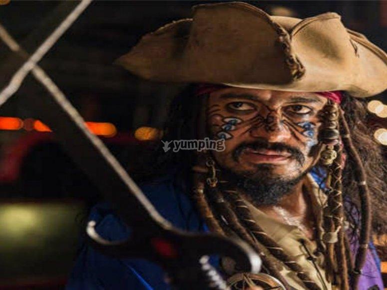 Conoce al pirata