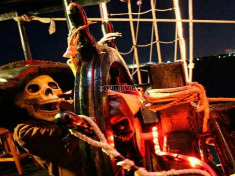 La decoracion pirata