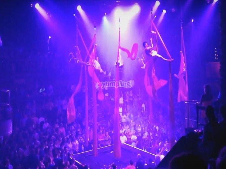 Show acrobatico