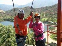 ATV adventure zipline descent