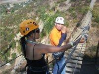 Fun Fun water in suspension bridges