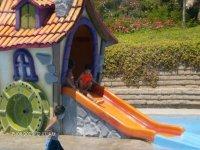 motorcycle rent water slide