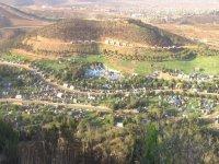 waterpark waterslides at the Rancho Vista