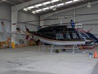 Helicoptero en el aerodromo