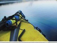 Tip of a kayak