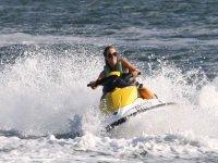 Freedom with jet ski