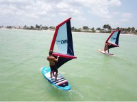Practice windsup with your partner