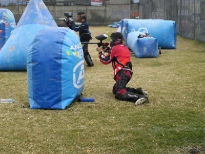 Birthday package: paintball for 10 people + lunch