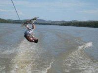 Giro en wakeboard