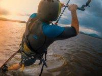 Clases de kitesurf en Villa Corona
