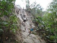 Rafting + rappel o tirolesa con alimentos Veracruz