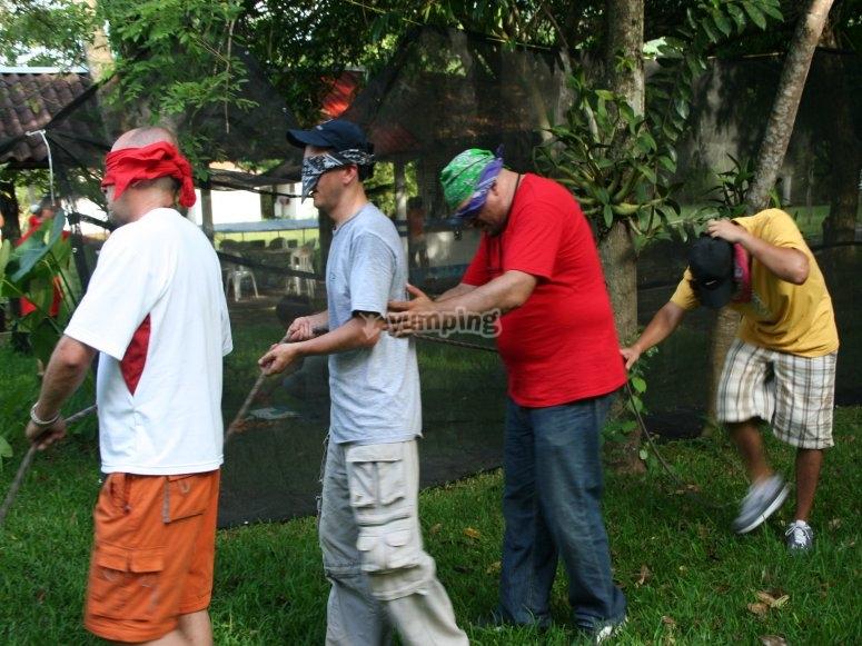 actividaes rio salvaje