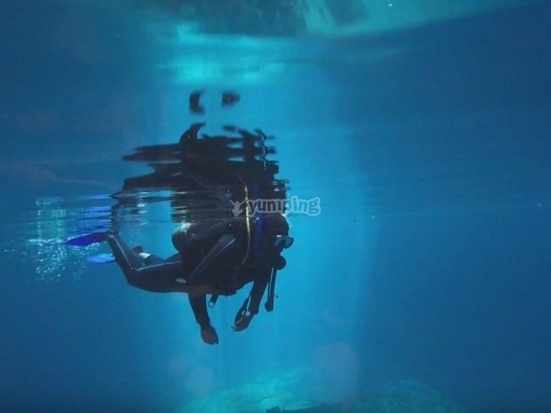 Be a master at diving