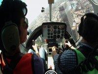 Helicoptero por la Ciudad