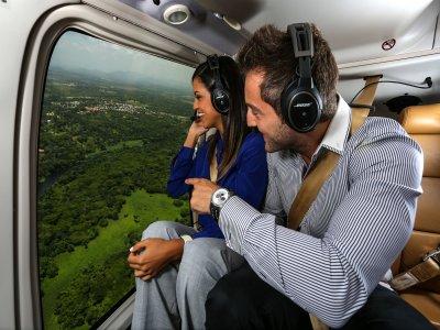 Vuelo en helicóptero y sesión fotográfica en CDMX