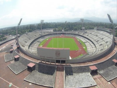 Tour helicóptero Estadios Azteca, Pumas, Cruz Azul