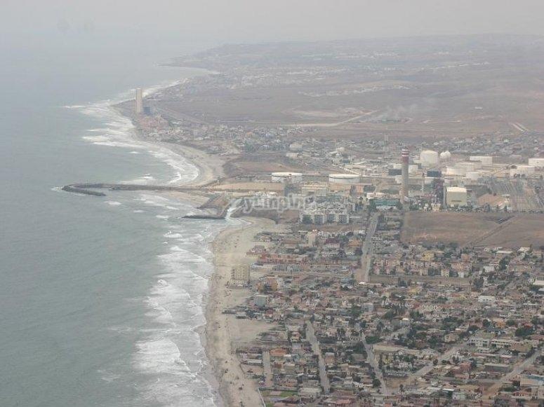 Admire the views of Tijuana