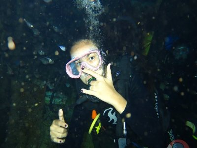 Scuba Diving PADI Discover. Playa del Carmen.