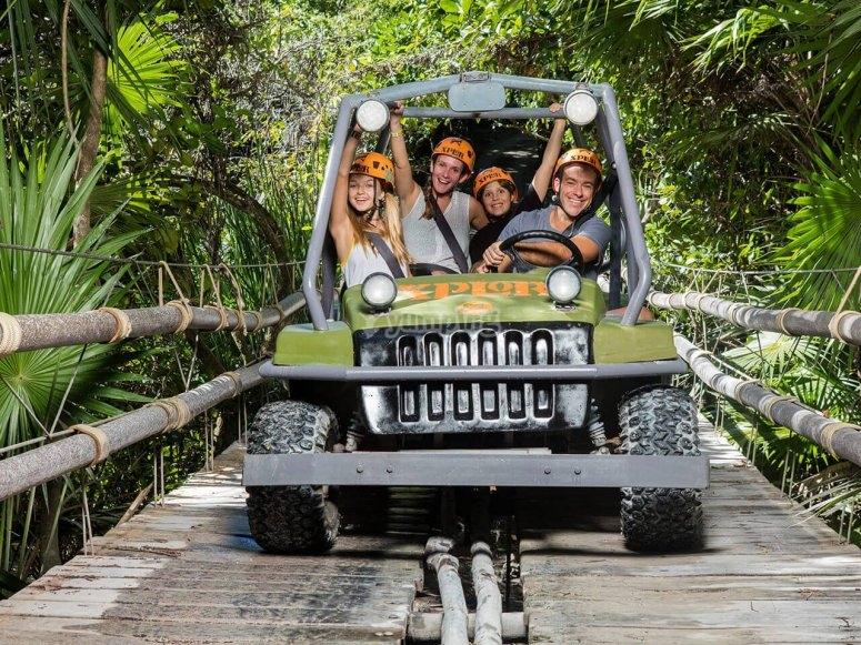 Familia en buggy