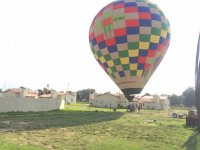 Balloon flight in hotel Hacienda