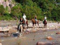 Cabalgata por la naturaleza