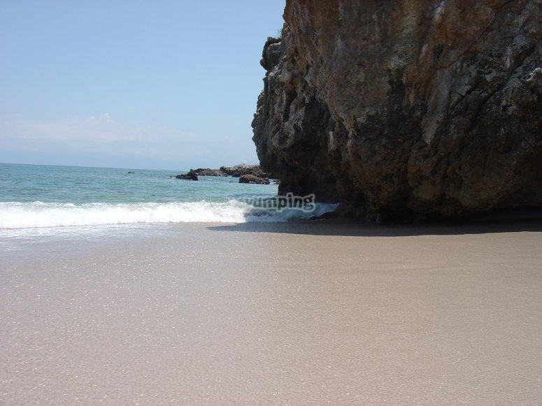 Conoce la playa los nopales