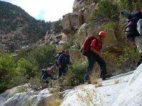 Hike uphill