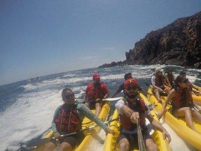 Tour extremo en Kayak por la bahía Bufadora BC