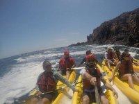 Exterme kayak tour Bahía Bufadora BC