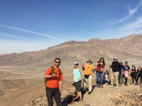 Hike with the CIEMPIES hiking group, Mexicali