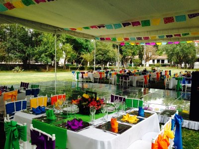 Space rental for parties, Texcoco