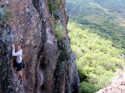 Climbing and bike ride in Oaxaca
