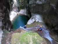Canyoning in Querétaro