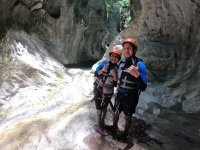 Ready to practice canyoning