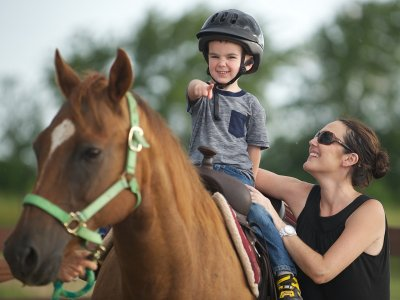 Hippotherapy for any age
