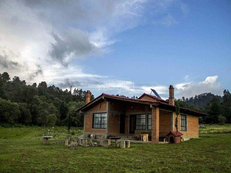 Tlaloc and Chimalli cabins