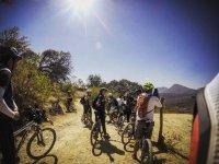 Cyclist route, Sierra & Agua Azul