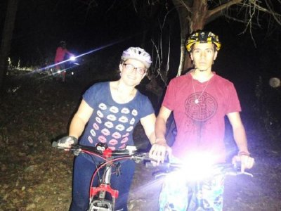 Night route MTB Ixtapan de la Sal
