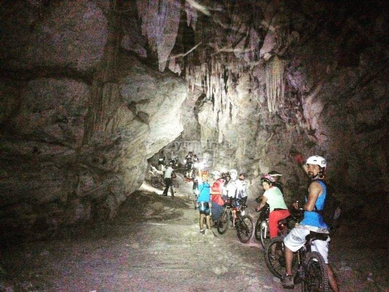 MTB under the rocks