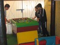 Futbolito en salón de fiestas infantiles