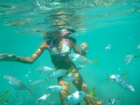 In the sea of cozumel